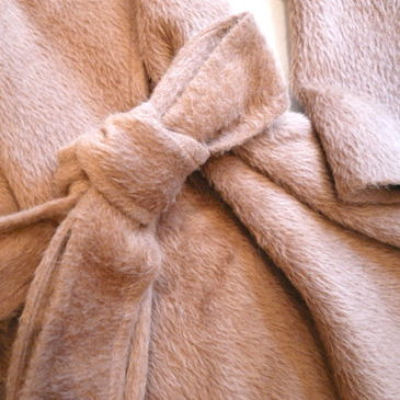90's camel color merino wool coat