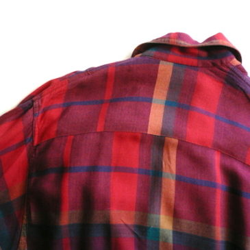 90's madras check jacket & Ralph Lauren linen pants