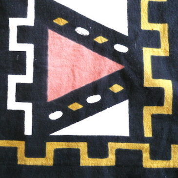 80〜90's African pattern tops