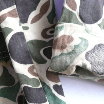 70's camouflage hunting jacket