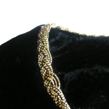 80's black velour gold trim JKT & paisley culotte pants