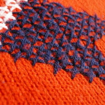 70's v-neck sweater &  brown corduroy skirt