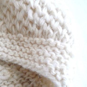 70~80's hand knit cardigan