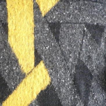 80〜90's bottleneck knit sweater