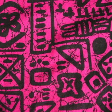 90's shocking pink shirts dress
