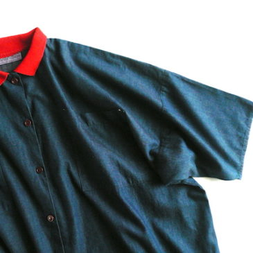 90's denim shirts dress
