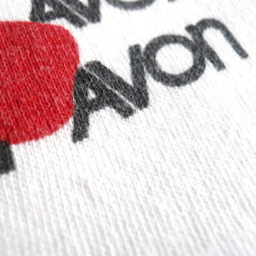 80'S AVON short sleeve sweat shirts