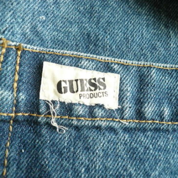 80's GUESS by Georges Marciano denim big JKT