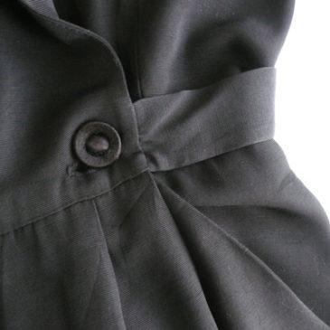 80's black jumpsuits