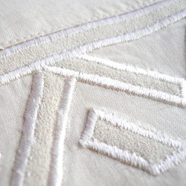 80〜90's black poly tuck blouse & ivory silk blouse