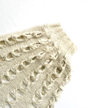 80's dolman sleeves beige summer knit & 70's Palegreen sleeveless knit