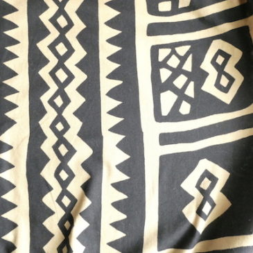 90's〜 African pattern cotton tops & easy pants