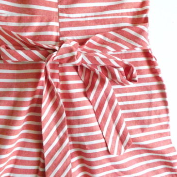 used horizontal stripe all in one☆明日22日(祝)営業します☆