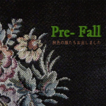 Pre FALL & very special price