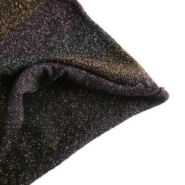 used glitter multi color border tops