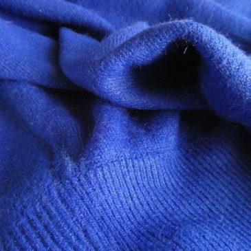 90's black silver glitter turtle neck sweater & 90's neon blue highneck sweater